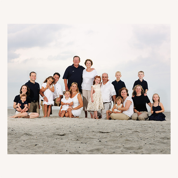 Beach Haven family Portraits